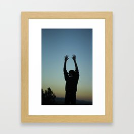 Sunset.  Framed Art Print