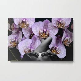 Watch Her Unfold Metal Print