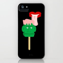 Frankenstein Ice Block iPhone Case