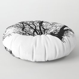 Brain Tree Floor Pillow
