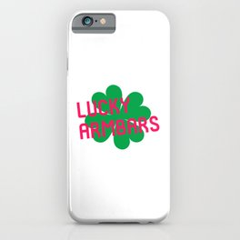 Lucky Armbars Irish Jiu Jitsu St Patricks Day BJJ iPhone Case