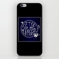 let it go iPhone & iPod Skins featuring Let Go by Emily Brand