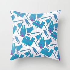 SPACE 3000 Throw Pillow