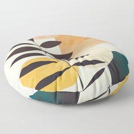 Abstract Elements 20 Floor Pillow
