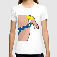 superhero T-shirts featuring superhero by mark ashkenazi