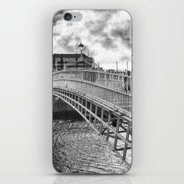 Ha'Penny Bridge in Dublin iPhone Skin