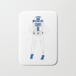 Girl R2-D2 Bath Mat