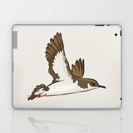 Simple Minimalist Manx Shearwater Flying Laptop & iPad Skin