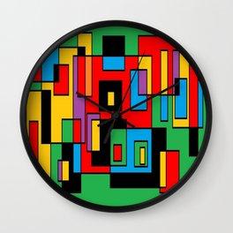 Green osile Wall Clock