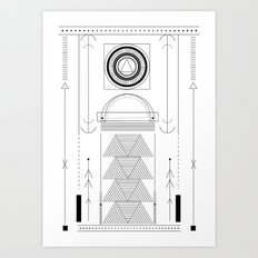 cirquit blank Art Print