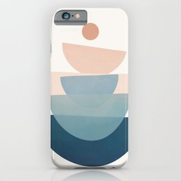 Abstract Minimal Shapes 31 iPhone Case