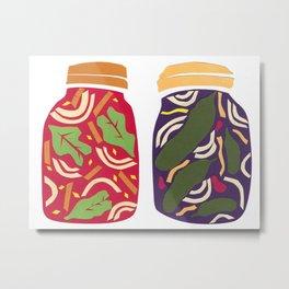 Ferments, Pickles & Kimchi Metal Print
