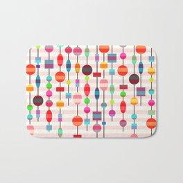 Colorful pearls Bath Mat