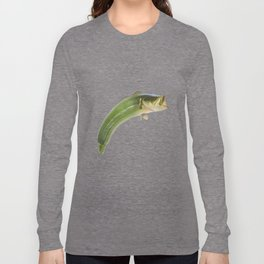 Fishy courgette Long Sleeve T-shirt