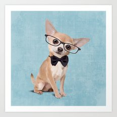 Mr. Chihuahua Art Print