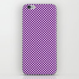 Winterberry and White Polka Dots iPhone Skin