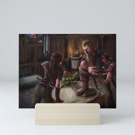 Three Rogues Mini Art Print