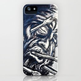 Head Pierced with Arrows, from the Los teules series - Digital Remastered Edition iPhone Case