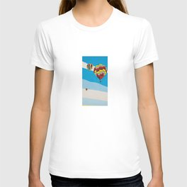 Three Hot Air Balloons T-shirt