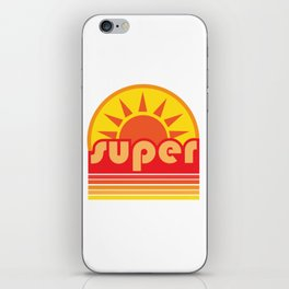super duper iPhone Skin