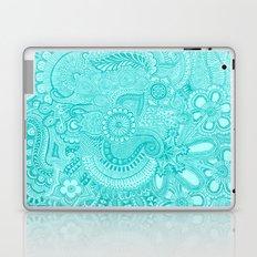 millions aqua Laptop & iPad Skin