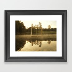 Room With A View. No. 5 Framed Art Print