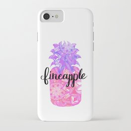 Fineapplw iPhone Case