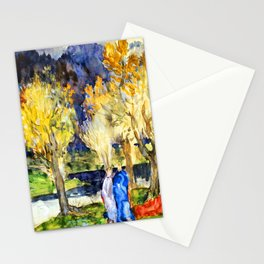 Pierre Puvis de Chavannes Sacred Grove Stationery Cards