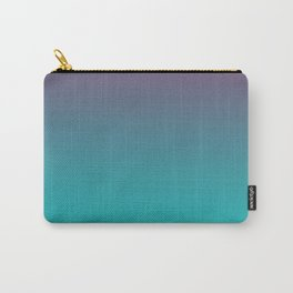 OCEANIC LOVE - Minimal Plain Soft Mood Color Blend Prints Carry-All Pouch