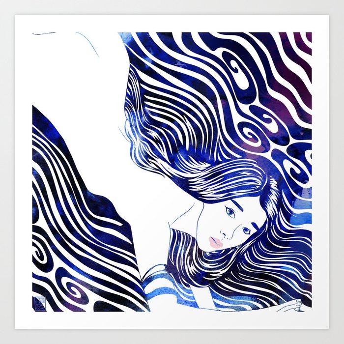 Water Nymph XXXIII Art Print
