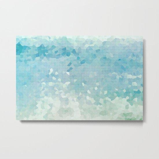 Ocean Palette Metal Print