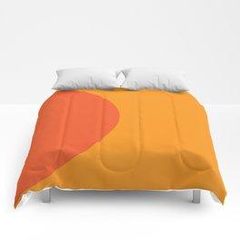 Orange Rising Comforters
