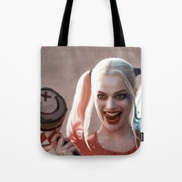 Harley Quinn The Homicidal Maniac - Suicide Squad Tote Bag