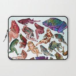 Reverse Mermaids Laptop Sleeve