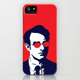 Daredevil Matt Murdock Fan Art iPhone Case