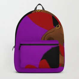 BLACK SEXY WOMAN Backpack