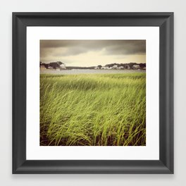 On the Coast Framed Art Print