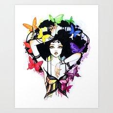 Yara Art Print