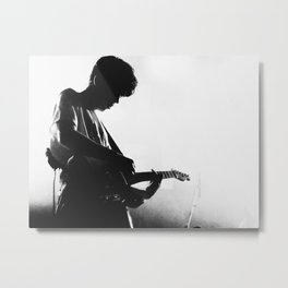 Declan on Guitar Metal Print