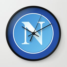 Napoli Logo Wall Clock