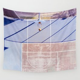 basketball court 3 Wall Tapestry