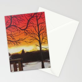 Home of Beautiful Sunsets Stationery Cards