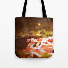 Lake of the Geisha Tote Bag
