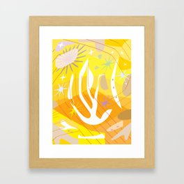Bird Flight Framed Art Print