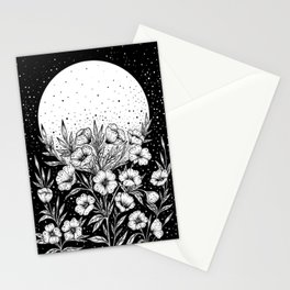 Moon Greeting Stationery Cards