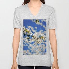 Spring Blossom IV Unisex V-Neck