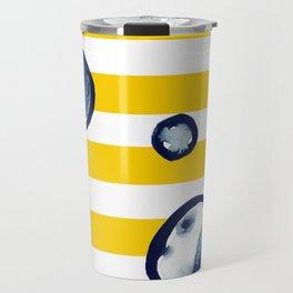 Abstract Scandinavia Travel Mug
