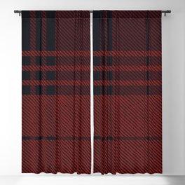 COZY PLAID Blackout Curtain