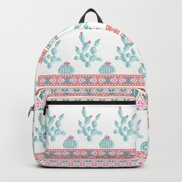 Ornament cactus Backpack