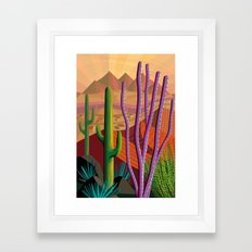 Tucson Framed Art Print